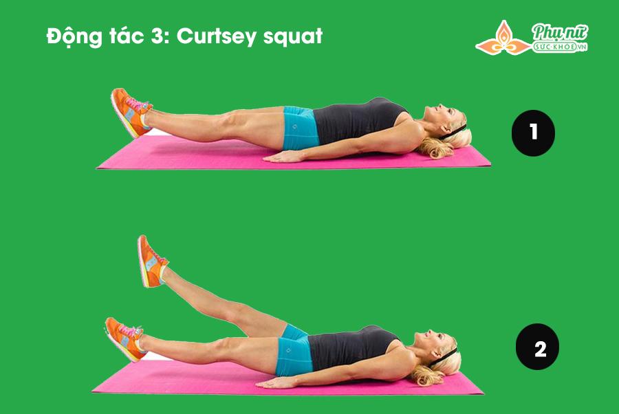 7 động tác giúp mông nở, eo thon mà chị em có thể tập bất cứ nơi nào - Ảnh 3